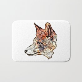 Space Fox no3 Bath Mat