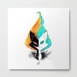 Nightmare/ScribbleNetty (Galaxy) Metal Print