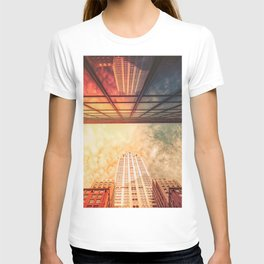 New York City Chrysler Building Up Up and Away T-shirt