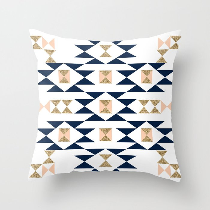 Navajo designs patterns Aztec Jacs Modern Pattern Design In Aztec Themed Pattern Navajo Print Textile Cute Trendy Girl Throw Pillow Society6 Jacs Modern Pattern Design In Aztec Themed Pattern Navajo Print