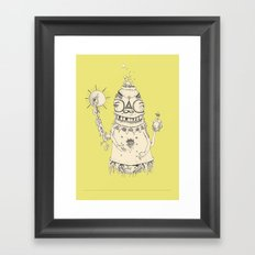 High Mr Meatbell Framed Art Print