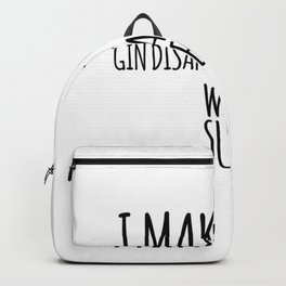 Gin Tonic Superpower | alcoholic gift Backpack