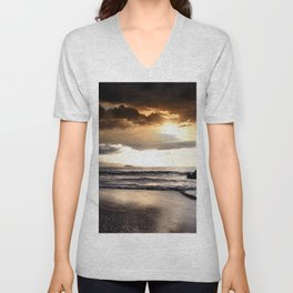 Rhythm of the Island Unisex V-Neck