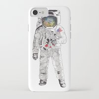 astronaut iPhone & iPod Cases featuring Astronaut by James White