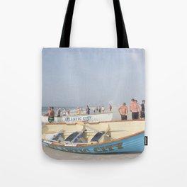 Atlantic City Lifeboats Tote Bag