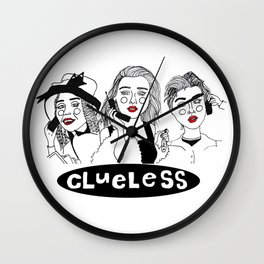 Clueless Wall Clock