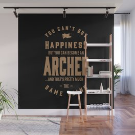 Archer - Funny Job and Hobby Wall Mural