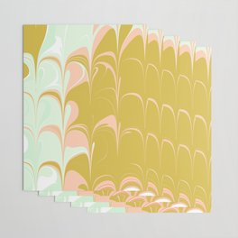 Abstract in Ice Cream Colors Wrapping Paper