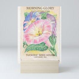 Morning Glory Seed Pack Mini Art Print