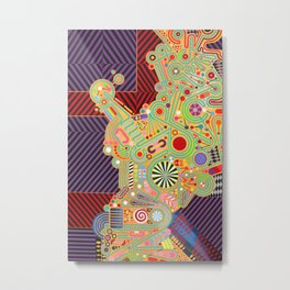 bisected toy Metal Print