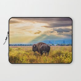 The Great American Bison Laptop Sleeve
