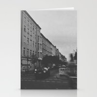 berlin Stationery Cards featuring Berlin by Jane Lacey Smith