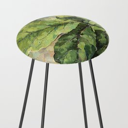 Green Leaves Counter Stool