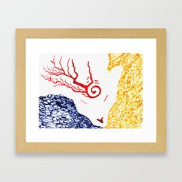 Spirit Of Three Framed Art Print