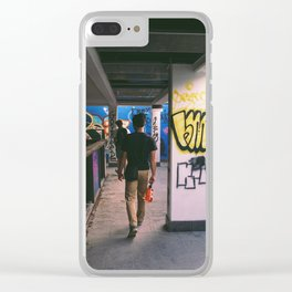 Castrophic Path 2 Clear iPhone Case
