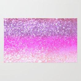 Unicorn Girls Glitter #1 #shiny #decor #art #society6 Rug