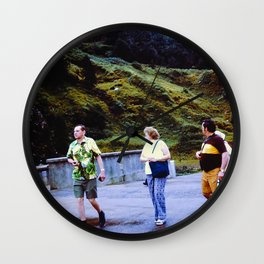 The Walkers Wall Clock
