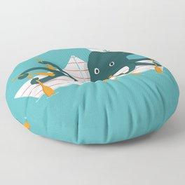 Sailor Octopus Floor Pillow