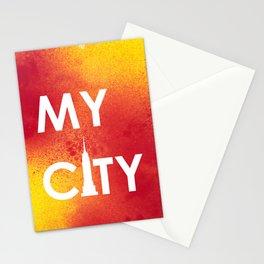MyCity-NYC-RedYellowA Stationery Cards