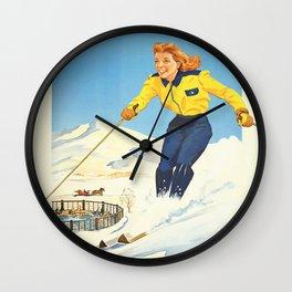 Sun Valley Wall Clock