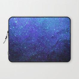 Blue Heavens: Vibrant Starfield Laptop Sleeve