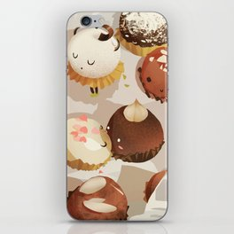 chocolate box life iPhone Skin