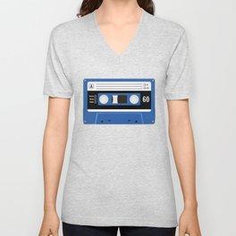 True Blue Unisex V-Neck
