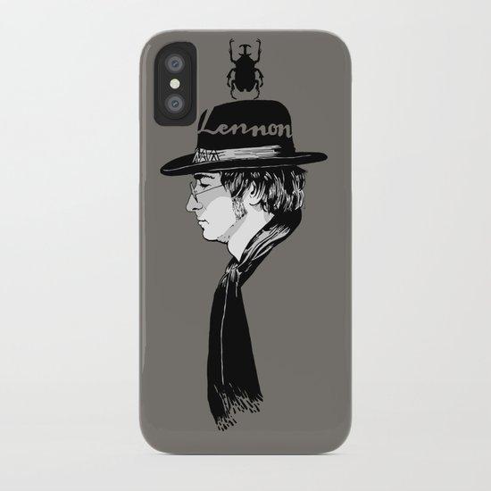 Lennon.John iPhone Case