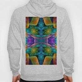 Colorful Fractal Juliascope Hoody