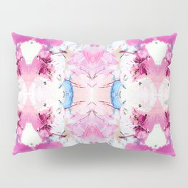 Pinky Swear (Abstract Paint Photograph) Pillow Sham