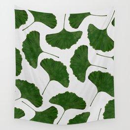 Ginkgo Leaf II Wall Tapestry
