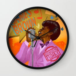 Soul Power Wall Clock