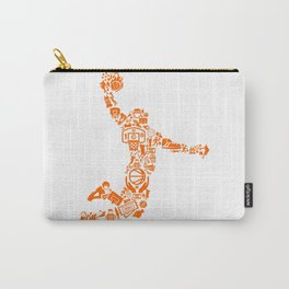 Basketball Art Dunk Carry-All Pouch