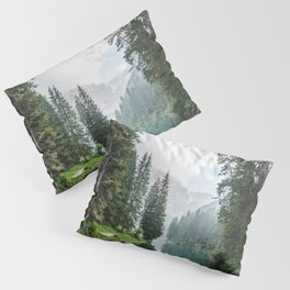 Forest Reflection in Italy Pillow Sham