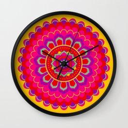 Masala Mandala Wall Clock