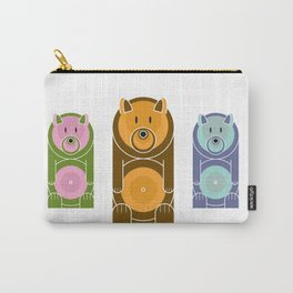 Bear With The Mod Target Belly Carry-All Pouch