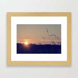 Not no hope. Framed Art Print
