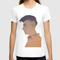 alex turner T-shirts featuring Alex Turner by tangledribbons