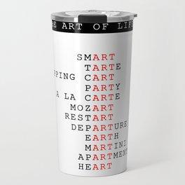 The art of life Travel Mug