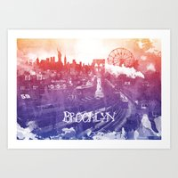 BrooklynToNY Art Print