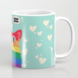 LGBT Cat Coffee Mug