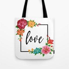 Floral Love II. Tote Bag