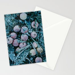 Frosted Apples Stationery Cards
