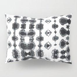 Shibori Ikat Habotoi BW Pillow Sham