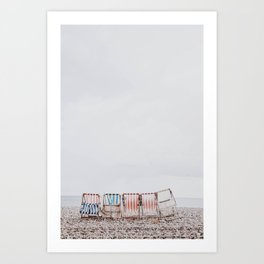 summer beach iii Art Print