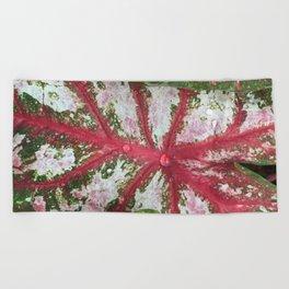 Heart of the Leaf Beach Towel