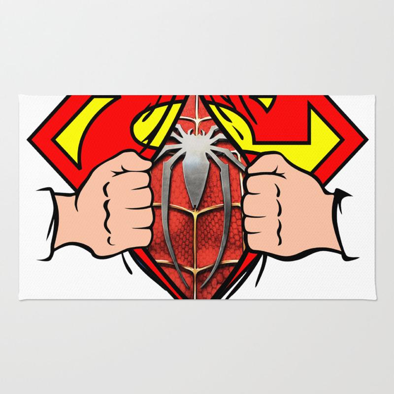 Spider New Man 2017 Super Rug by Abllo RUG7835542