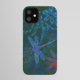 Dragon Fly Abstract Print iPhone Case