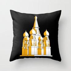 (Saint Basil's) Cathedral Throw Pillow