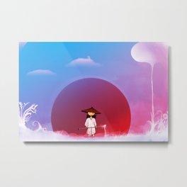 Yun Metal Print